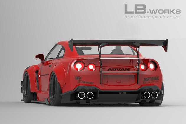 Nissan GT-R Liberty Walk Type 2 空力套件登场!