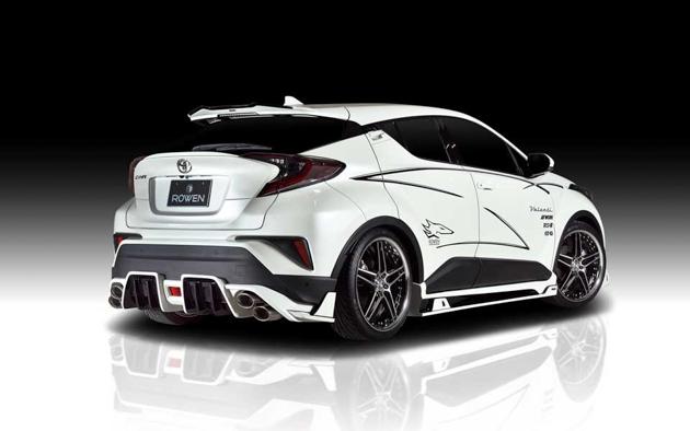 Toyota C-HR ROWEN bodykit ,战斗格十足!