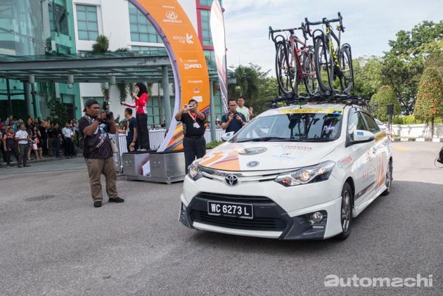 Toyota Malaysia 总部出发, Jelajah Malaysia 脚车赛正式开跑!