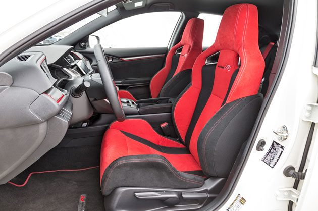 2017 honda civic type r front interior drivers side. Black Bedroom Furniture Sets. Home Design Ideas