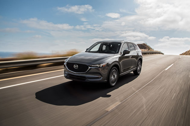 倒入气缸休止技术, Mazda CX-5 更省油!