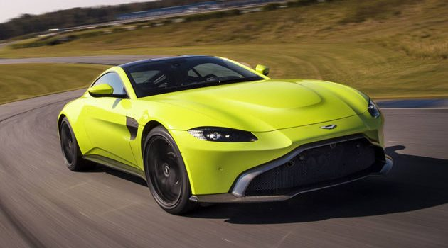 2018 Aston Martin Vantage 正式发表!百公里加速3.5秒!