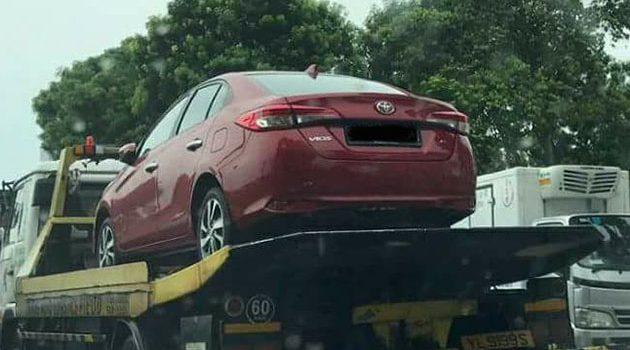 Toyota Vios 2018 现身新加坡市场?