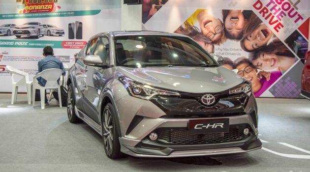 Malaysia Autoshow 2017: Toyota C-HR 大马版正式登场!