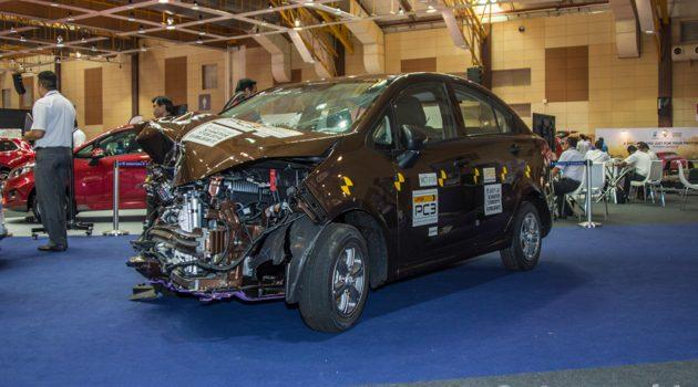 展示硬实力, Proton Persona 撞击测试车实拍!
