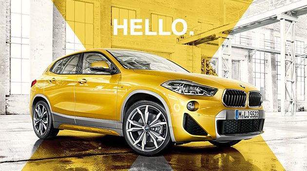 BMW X2 我国版本规格出炉:sDrive20i 版本!