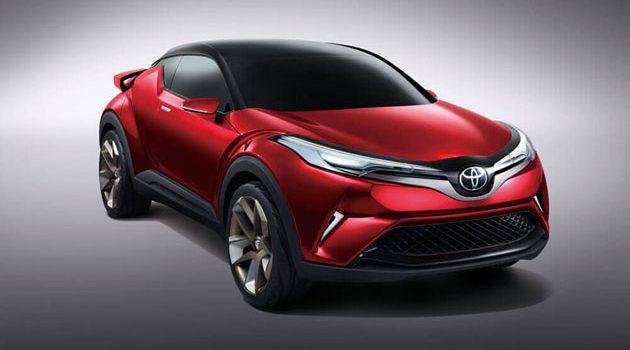 Toyota 全新小型SUV或亮相广州车展!