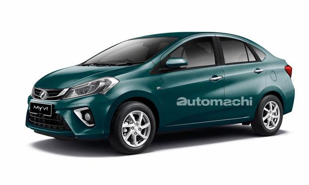 Perodua Myvi Sedan 有望?先看看大师的假想图!