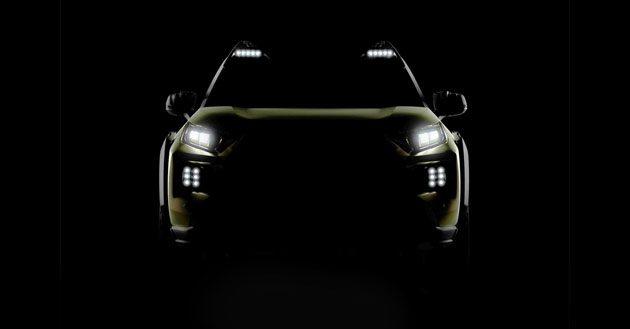 Toyota FT-AC 小型SUV预告,洛杉矶车展登场!