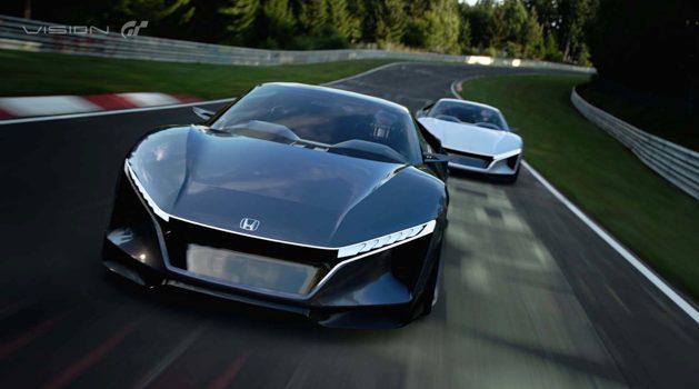 Honda Sports Vision Gran Turismo 虚拟登场!