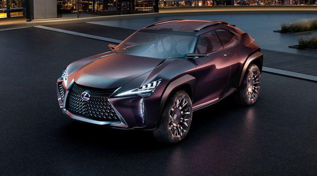 SUV家族最小成员, Lexus UX 明年初面市!