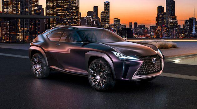 家族最小SUV,Lexus UX 量产版会长这样吗?
