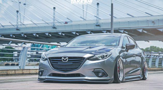 改装无罪: 视觉系 STANCE 姿态改装 Mazda3 !