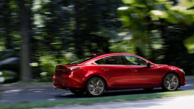Mazda6 2018 洛杉矶车展正式发布,搭载 2.5L 涡轮引擎!
