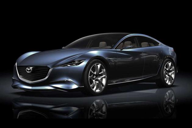 2018 Mazda6 正式亮相前夕,小露车头与内装!