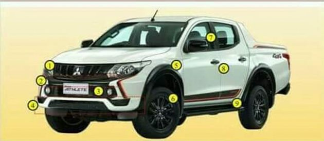 Mitsubishi Triton 将推出更为运动化的 Athlete 版本!