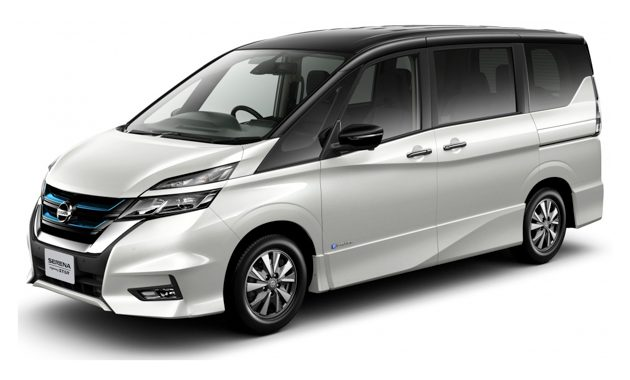 nissan serena e power 2018 3. Black Bedroom Furniture Sets. Home Design Ideas