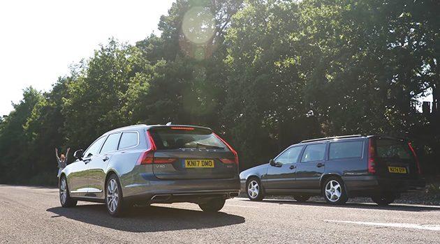 两代北欧 Wagon 对决,当 Volvo V90 D5 对上 850 T5 !