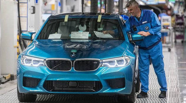 BMW M5 F90 正式下线!宝马怪兽明年进军大马!
