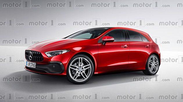 2018 Mercedes-Benz A Class 细节曝光!入门版给你Torsion Beam!