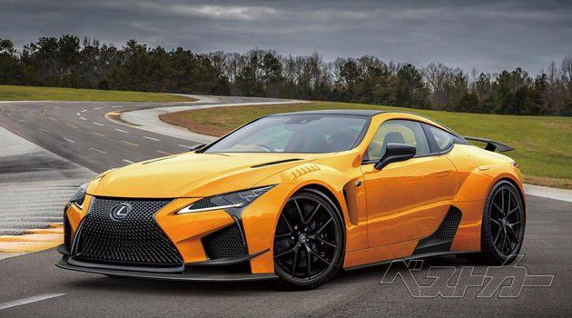 Lexus LC-F 细节曝光!最大马力达到630 hp!