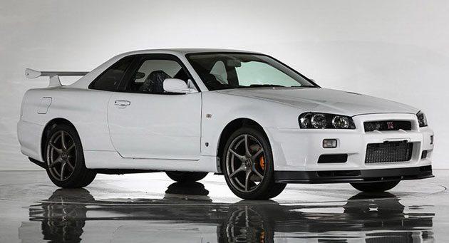 只有一台! 全新 Nissan Skyline R34 GT-R V Spec II Nür  拍卖!