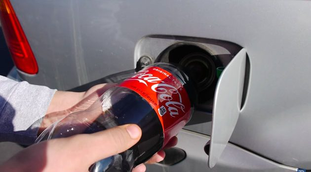 Coca Cola 可以代替汽油?看这个网友的惊人实验!