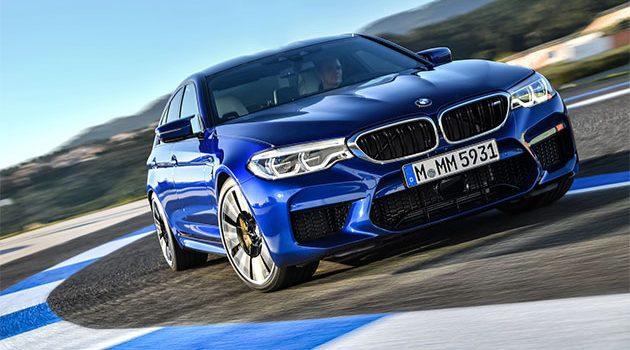 就是要咆哮声浪才爽! BMW M5 F90 这样才暴力!