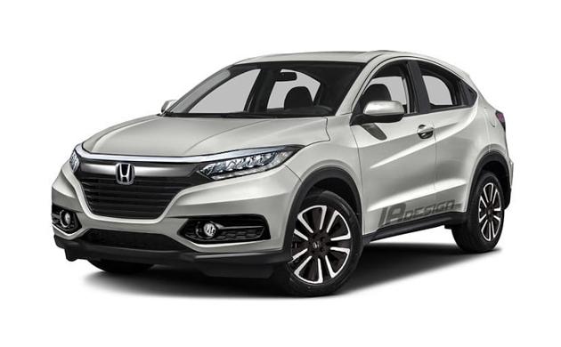 Honda HR-V 2018 构想图,新一代家族脸!
