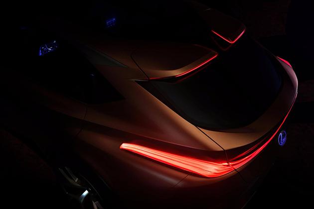Lexus LF-1 小露车尾,1月亮相底特律车展!