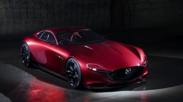 Mazda 被捕获测试 Skyactiv-R 转子引擎!