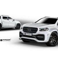 肌肉感十足! Mercedes-Benz X Class 空力套件登场!