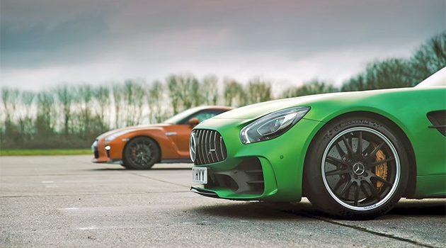战神之争, Nissan GT-R 对上 Mercedes-AMG GT R !
