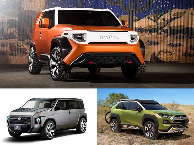 Toyota 计划开发全新入门都会跨界 SUV 车型!