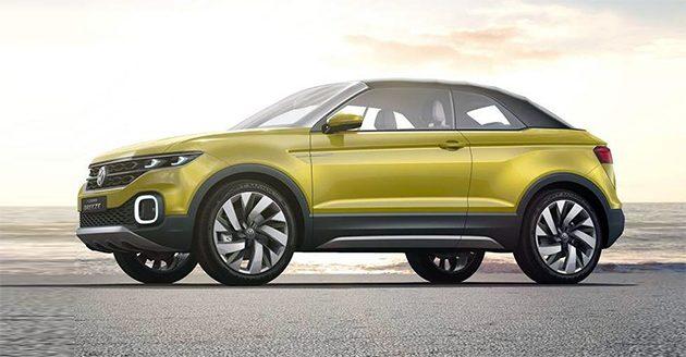 抢攻小型 SUV 市场, Volkswagen T-Cross 现身雪地测试!