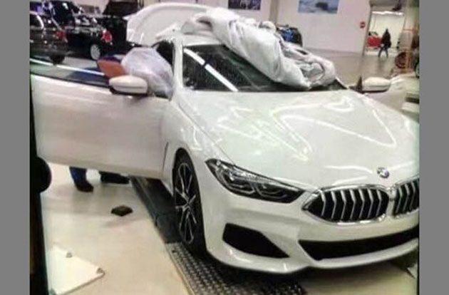 BMW 8 Series 实车照首次曝光,设计超前卫!