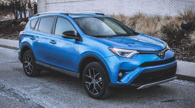 Toyota Rav4 成为美国最畅销SUV车型!