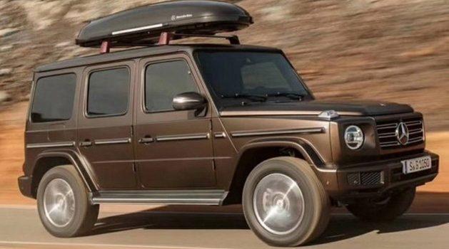 新一代 Mercedes-Benz G-Class 发表前夕外形全数曝光!