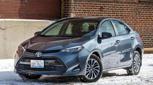 2018 Toyota Corolla 现身测试!终于有电子手刹车了!