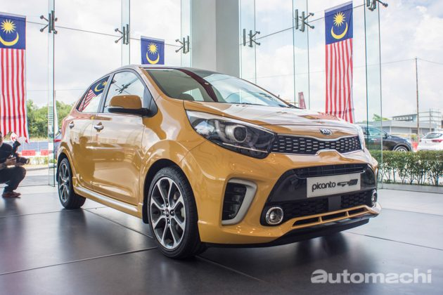 Kia Picanto 2018 正式发表,价格从RM 49,888起跳!