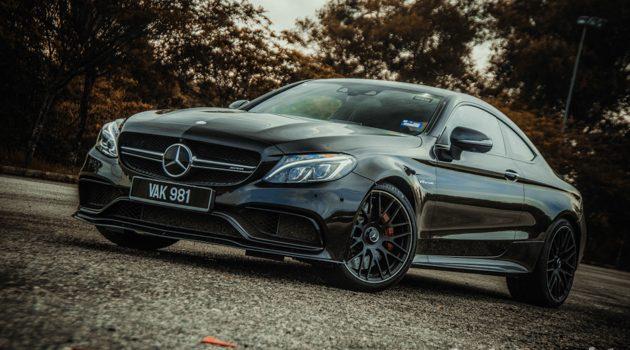 Mercedes-AMG C63 S Coupe ,黑色暴力凶兽!