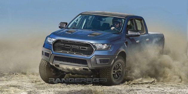 Ford Ranger Raptor 确认2月7日泰国发表 !