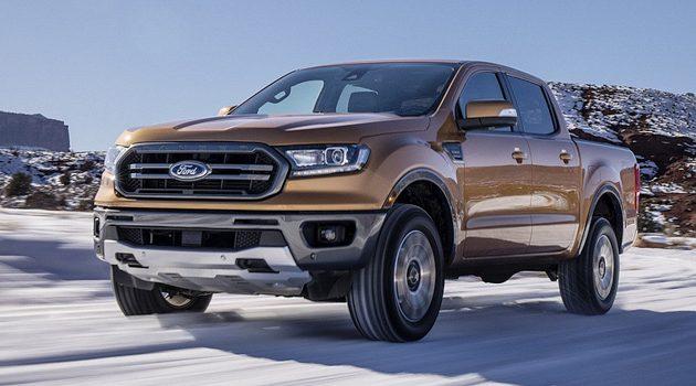 底特律车展: Ford Ranger 发布,搭载 Mustang 引擎!