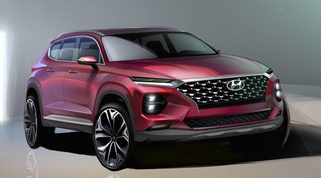新一代 Hyundai Santa Fe 构图释出,2月正式发表!