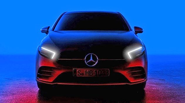 新一代 Mercedes A-Class 官方预告,2月2日正式发布!