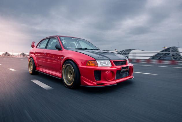 Mitsubishi Evolution V ,400hp的一代街霸!