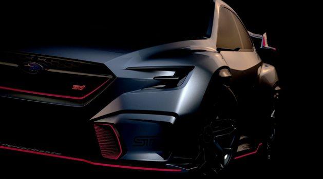 新一代 Subaru WRX STI 官方预告,东京改装车展见!