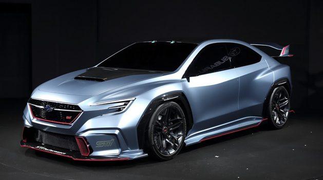 新一代 Subaru WRX STI 概念车热血现身东京改装车展!