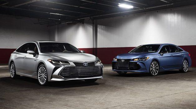 底特律车展:Toyota Avalon 2019 粉墨登场!