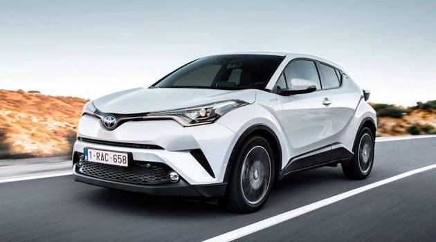 Toyota C-HR 成为日本 2017 年度最畅销 SUV !